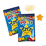 Star Suckers with Popping Candy