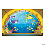 Submarine View Backdrop Banner