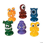 Suction Cup Monster Characters