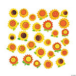 Sunflower Foam Beads - 14mm - 24mm
