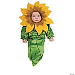 Sunflower Newborn Baby's Costume