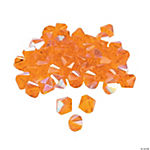 Sunset Orange Aurora Borealis Crystal Bicone Beads - 8mm