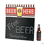 Tabletop Beer Sign Stand-Up
