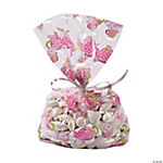 Tea Party Cellophane Bags