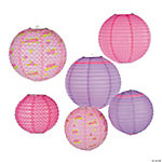 Tea Party Paper Lanterns