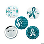 Teal Hope Buttons