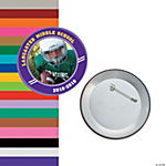 Team Spirit Custom Photo Buttons