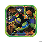 Teenage Mutant Ninja Turtles Dessert Plates