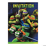 Teenage Mutant Ninja Turtles Party Invitations
