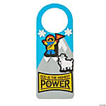 The Highest Power Doorknob Hanger Craft Kit