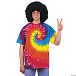 Tie Dye Shirt Costume for Adults
