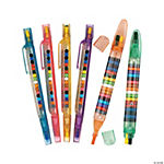 Transparent Glitter Stacking Point Crayons