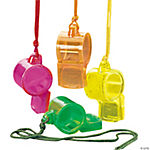 Transparent Whistles