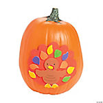 Turkey Pumpkin Decorating Craft Kit