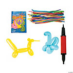 "Twist Balloon Kit with Mini Air Pump & ""Balloon Magic"" Book"