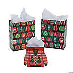 Ugly Sweater Gift Bags