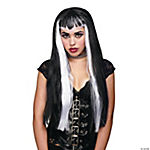 Undertone Vampire Wig Black/White