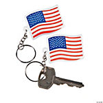 USA Flag Key Chains