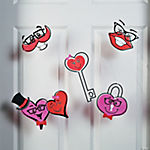 Valentine Character Window Clings