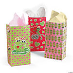 Valentine Frog Bags