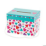 Valentine Hearts Card Box