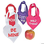 Valentine Mini Heart Totes