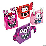 Valentine Monster Treat Boxes