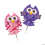 Valentine Owl Sucker Cover Craft Kit