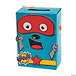 Valentine Superhero Card Box Craft Kit