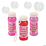 Valentine's Day Bubble Bottles