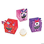 Valentine's Day Monster Cupcake Box Craft Kit