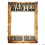 Wanted Photo Frame Prop
