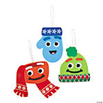 Warm Winter Character Ornament Craft Kit
