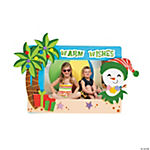Warm Wishes Picture Frame Magnet Christmas Craft Kit
