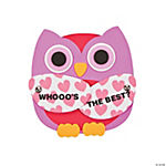"""Whooo's the Best?"" Owl Magnet Craft Kit"