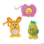 Wild Animals Egg Decorating Craft Kit