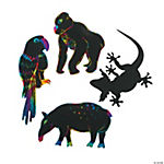 Wild Wonders Magic Color Scratch Animals