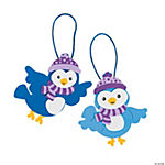 Winter Bird Christmas Ornament Craft Kit