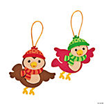 Winter Birds Christmas Ornament Craft Kit