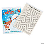 Winter Mazes Activity Books