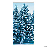 Winter Retreat Door Cover
