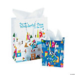 Winter Village Gift Bags