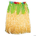 Women's Hula Skirt with Palm Leaves