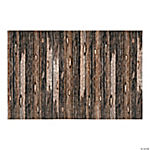 Wood Plank Look Backdrop Banner