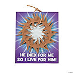Woven Crown of Thorns Craft Kit with Card