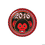 Year of the Monkey Dessert Plates