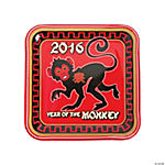 Year of the Monkey Square Dinner Plates