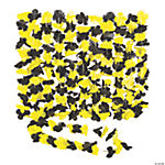 Yellow & Black Team Spirit Flower Leis