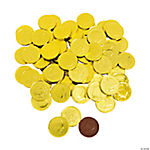 Yellow Chocolate Coins