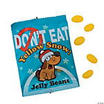 Yellow Snow Jelly Bean Fun Packs